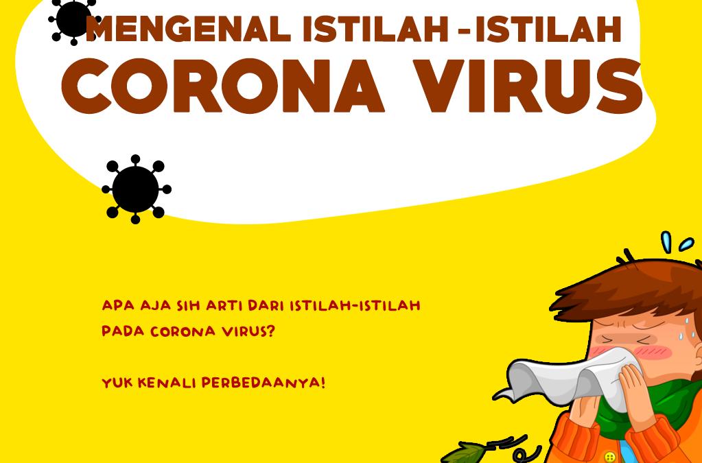 Mengenal Istilah-Istilah Virus Corona Covid-19